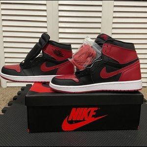Jordan 1 High Retro Banned 2016 - Size 9.5 - UA